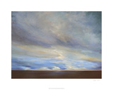 Coastal Clouds II Premium Giclee Print by Sheila Finch