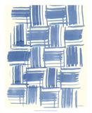 Macrame Blue VI Giclée-Druck von Vanna Lam