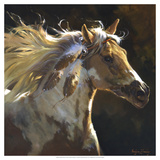 Spirit Horse Giclee Print by Carolyne Hawley