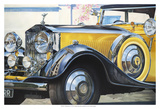 '34 Rolls Royce Print by Graham Reynolds