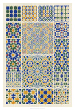 Moorish Design Giclee Print by Owen Jones