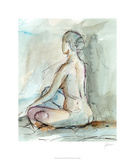 Watercolor Gesture Study II Limited Edition by Ethan Harper