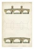 Design for a Bridge I Giclee Print by J. Addison