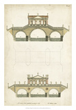 Design for a Bridge II Giclee Print by J. Addison