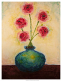Big Blue Vase Giclee Print by Marabeth Quin