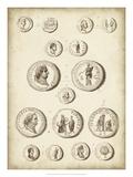 Antique Roman Coins III Giclee Print