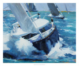 White Water Giclee Print by Curt Crain