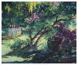 From Under the Lilac Giclee Print by Julie G. Pollard