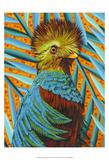 Bird in the Tropics I Poster by Carolee Vitaletti
