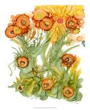 Sunlit Poppies III Giclee Print by Cheryl Baynes