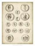 Antique Roman Coins IV Giclee Print