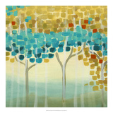 Forest Mosaic II Giclee Print by Erica J. Vess