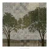Patterned Arbor I Giclee Print by Megan Meagher