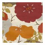 Hibiscus Fresco II Giclee Print by June Erica Vess