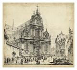 Brussells Lámina giclée por John Coney