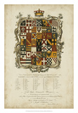 Edmondson Heraldry I Giclee Print by  Edmondson