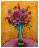 Long-Stemmed Happiness Giclee Print by Marabeth Quin