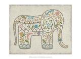 Laurel's Elephant I Kunstdruck von Chariklia Zarris