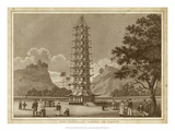 The Porcelain Pagoda Giclee Print by Thomas Kelly