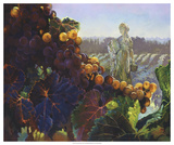 Tuscany Bounty Giclee Print by Clif Hadfield