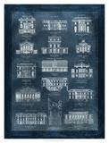 Maisons a Paris Giclee Print by  Schoy