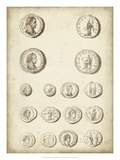 Antique Roman Coins II Giclee Print