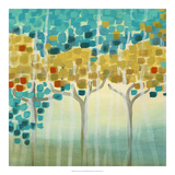 Forest Mosaic I Giclee Print by Erica J. Vess