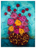 Love & Roses Giclee Print by Marabeth Quin