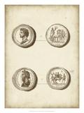 Antique Roman Coins VI Giclee Print