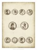 Antique Roman Coins V Giclee Print