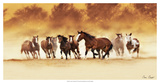 Comin' Through Giclee Print by David Drost