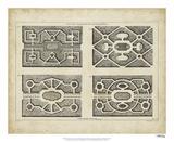 Garden Parterre VI Giclee Print by DeZallier d' Argenville