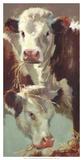 Hef 'n' Her Giclee Print by Carolyne Hawley