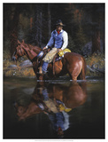 A Sound in the Timber Giclee Print by Jack Sorenson