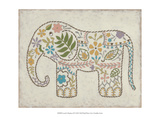 Laurel's Elephant II Prints by Chariklia Zarris