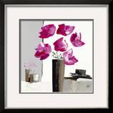 Pivoines Roses II Poster by Bernard Ott