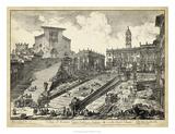 Veduta del Romano Campidoglio Giclee Print by  Piranesi