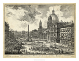 Veduta di Piazza Navona Giclee Print by  Piranesi