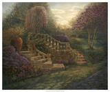 April Garden Giclee Print by Judy Mastrangelo