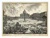 Veduta della Basilica di S.Pietro Giclee Print by  Piranesi