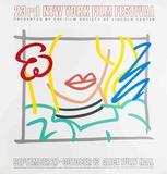 Tom Wesselmann - Monica, 23rd New York Film Festival - Serigrafi