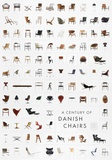 A Century of Danish Chairs Collectable Print by  Unknown
