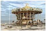 Arcachon Carousel Giclee Print by Colby Chester