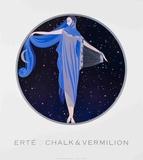 Moonlight Kunst van  Erté