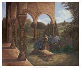 Rose Cloister Giclee Print by Judy Mastrangelo