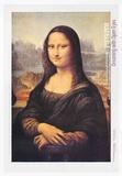 L.H.O.O.Q. (Mona Lisa) Poster av Marcel Duchamp