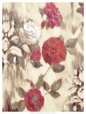 Ikat Rose II Giclee Print by Marietta Cohen
