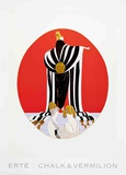 Monaco Collectable Print by  Erté
