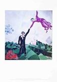 The Promenade Kunstdrucke von Marc Chagall