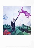 The Promenade Art by Marc Chagall